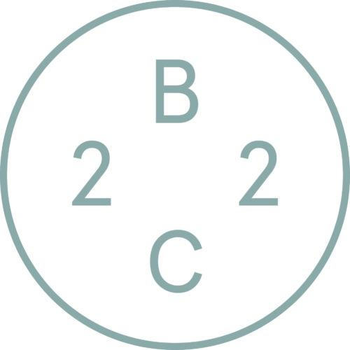 Klik op het logo voor 2BLIND2C