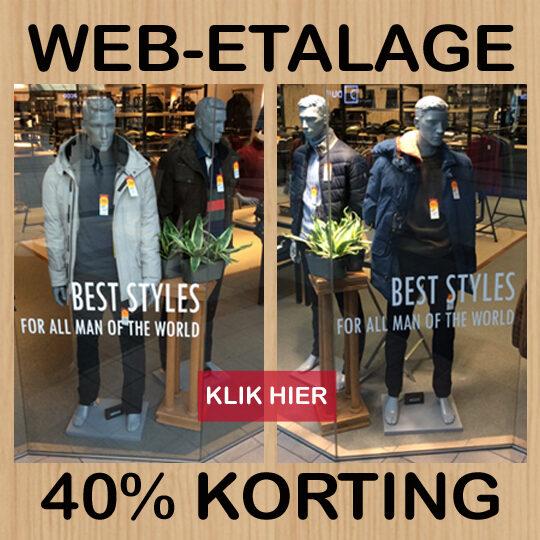 Web-etalage & bezorgservice